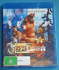 BROTHER BEAR & BROTHER BEAR 2 Blu-ray NEW SEALED Disney