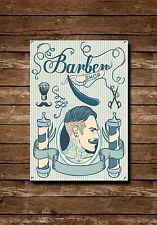 Barber Shop Sign, Metal Sign, Barber Shop Signs, Vintage Style, Barbers Sign,720