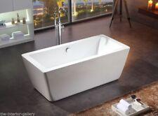 """Acrylic Bathtub - Freestanding- Soaking Tub- Modern Bathtub- Gratziella III -67"""""""