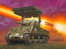 Revell 1:3 5 03074: M4A3 Sherman + Rocket Launcher