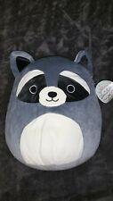 "New ListingSquishmallow Randy The Raccoon 16"" Pillow Plush New Super Soft!"