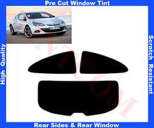 Pre-Cut Window Tint Opel Astra J 3D 2011-.. Rear Window & Rear Sides AnyShade