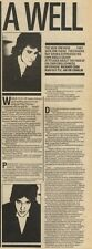 29/10/83PN28/29 ARTICLE WITH PICTURE: RAY DAVIES A WELL REFLECTED MAN