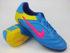 Nike Mens Rare Nike5 Elastico Pro Blue 415121-467 Indoor Soccer Shoes Size 9