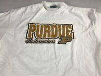 Purdue Boilermakers T-Shirt Adult L/XL Student University Alumni Cotton Graduate