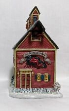 """1998 Lang & Wise Town Hall Collectibles """"Old Red Mill"""" #8"""