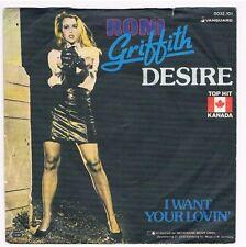 "Roni Griffith-Desire/I want your lovin'/7"" Single von 1982"