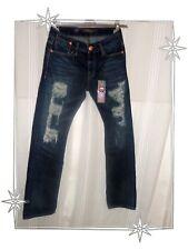Jeans Fancy Torn Ed Hardy by Christian Audigier Size 27 US - 38 FR