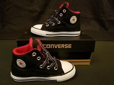 Converse Chuck Taylor All Star High Street Sneakers Black Shoes Toddler Size 9T