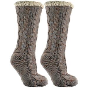 NWT MinxNY Aromasoles Lounge Bed Slipper Socks Soft Cozy Fuzzy Warm Size OS