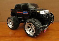 Nikko Hummer Sport Utility Truck Radio Control RC 6V - Black 49MHz - Rare
