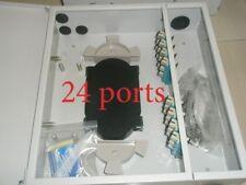24 fiber wall mount distribution panel Multi mode Adc Tyco Telect Siecor Corning