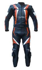 Tuta per moto in pelle divisibile arancio KTM 46 48 50 52 56 58 60 62 M L