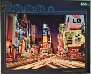 Buffalo New York Times Square 2000 Pieces Jigsaw Puzzle