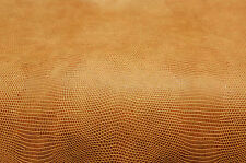 FAUX LEATHER ANIMAL SKIN UPHOLSTERY FABRIC 4 YDS