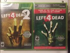 Left 4 Dead 1 & 2 (Xbox 360) Great Horror Lot  & 1 Resealed *FREE SHIPPING*