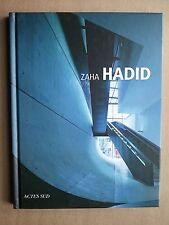 "Margherita GUCCIONE "" Zaha HADID "" Editions Actes Sud, 2010 architecture"
