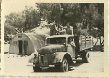 PHOTO ANCIENNE - VINTAGE SNAPSHOT - MILITAIRE CAMION MAGHREB - MILITARY TRUCK 2