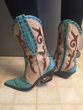 DONALD J PLINER Western Couture Collection Women's Cowboy Boots