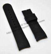 Comp Calvin Klein CK K22271 K22471 - 22mm Black Rubber Watch Band Strap