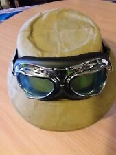 GENUINE 19th Cen{ REAL PITH HELMET } ~ STEAMPUNK ~ Expressly Styled for S.BAROUK
