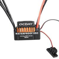 OCDAY Waterproof 60A Sensorless Brushless Car Electronic Speed Control ESC U7H4