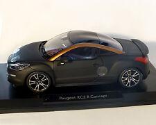 Peugeot RCZ-R negro mate, 1:18 norev