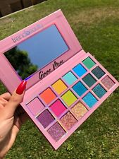 Trend Beauty Gimme More Eyeshadow palette bright vivid colors, matte and glitter