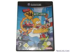# the simpsons-Hit & run allemand pour Nintendo GAMECUBE JEU // GC-top #