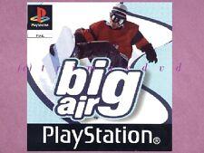 PS1 _ Big Air _ CD im TOP-Zustand _ Über 1000 weitere Spiele im SHOP