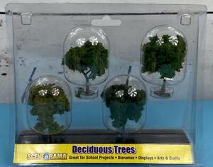 Woodland Scenics SP4150 HO Scene-A-Rama Deciduous Trees Diorama Plants NEW NOS