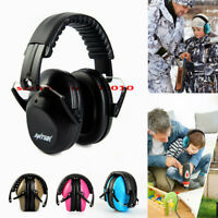 Foldable Kids Safety Ear Muffs Hearing Protection Earmuff 25dB Noise Reduction