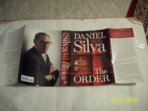 The Order : A Novel by Daniel Silva (2020, Hardcover)