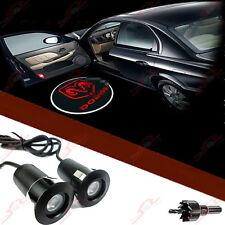 2X Für Alle DODGE Tür Shadow Laser Licht Einstiegsbeleuchtung LED Logo Projektor