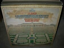 RICHTER / BACH 6 brandenburg concertos ( classical ) 2lp box archiv
