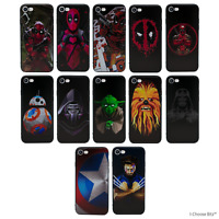 """3D Marvel Soft Gel Case/Cover for Apple iPhone 6/6s Plus / Screen Protector 5.5"""""""