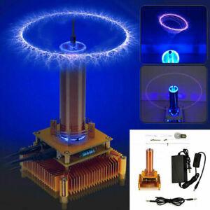 Musik Teslaspule Coil Plasma Lautsprecher Drahtlose Übertragung solid & DIY Kits