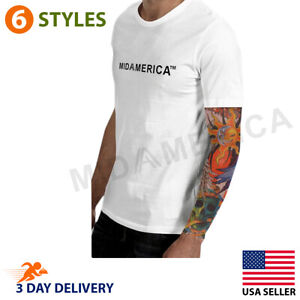 Tattoo Arm Sleeves Cover Skin Protection For Outdoor Activities and LifeStyle