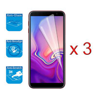 For Samsung Galaxy J6+ Plus - Screen Protector Cover Guard LCD Film Foil x 3