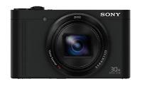 Sony Cyber-Shot DSC-WX500 18.2MP Digital Still Camera - Black