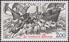 MONACO 1984 pecore bovini// Barca/RABELAIS/Letteratura/Libri/Scrittori 1 V (n34183b)