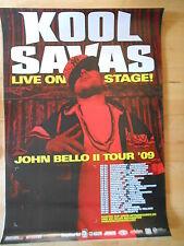 KOOL SAVAS 2009 TOUR  -  orig.Concert-Konzert-Tour-Poster-Plakat DIN A1