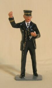 Conductor checking watch, Standard Gauge train figure for Lionel, Ives, Dorfan