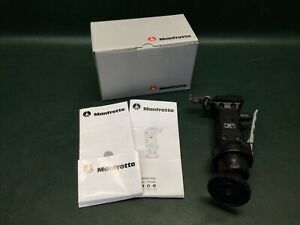 Manfrotto 222 Joystick Head with Quick Release Plate in Box w/ Paperwork
