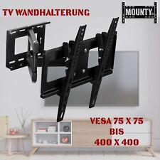 "LCD LED TV Wandhalterung Fernseher Wandhalter 32-55 Zoll schwenkbar neigbar 40"""