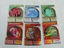Spinmaster 6 Bakugan Brawlers Special Cards
