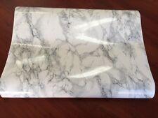 DC200-8095 Cortes Blue Marble Self Adhesive Foil Bathroom/Kitchen 67.5cm x 15m
