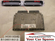 Peugeot 306  Gearbox Control Module 1.6 Automatic