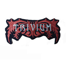 TRIVIUM Embroidered Rock Band Iron On or Sew On Patch UK SELLER Patches