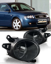 For 2002-2005 Audi A4 B6 Clear Lens Replacement Fog Lights Housing Assembly Pair